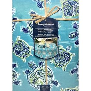 Tommy Bahama Sea Turtle Tablecloth 64 x 80 Oblong